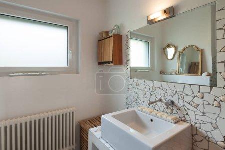Interior, bathroom, modern sink