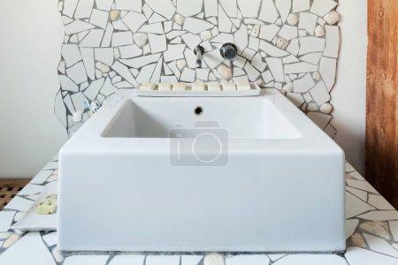 sink of a bathroom