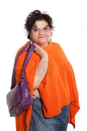 portrait of woman fashionable