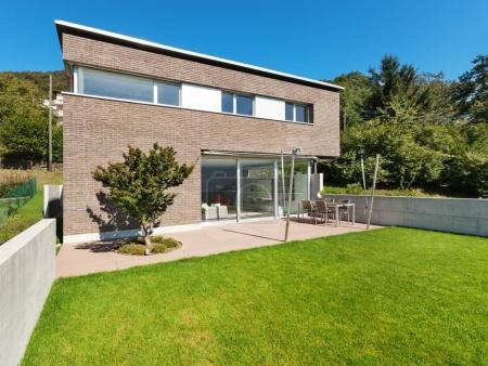 Architecture modern design, house
