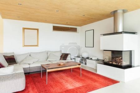 Modern villa, interiors, nobody inside