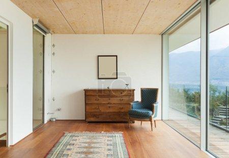Modern house, nobody inside