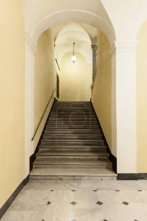 Historic staircase in indoor