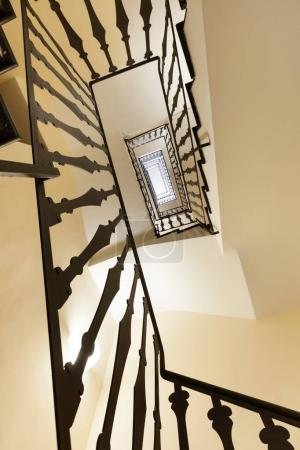Interior staircase, hold house