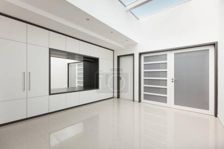 Interior modern house, corridor view