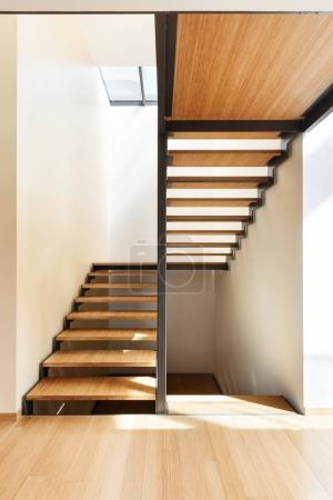 staircase of a modern house