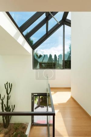 modern building, interior