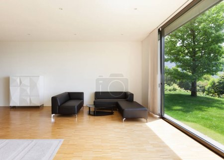 house, wide living room