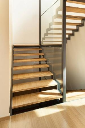 Photo for Interior of a modern house, stair view - Royalty Free Image