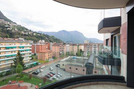 Modern apartment, balcony