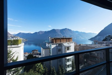 Terrace on Lugano Lake
