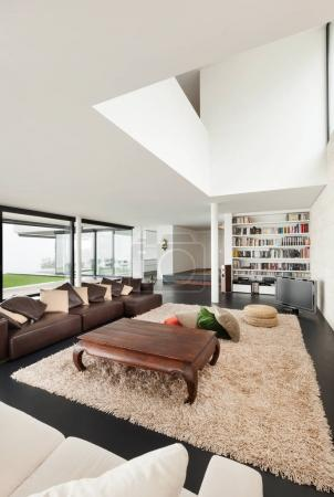 Architecture, beautiful interior of a modern house