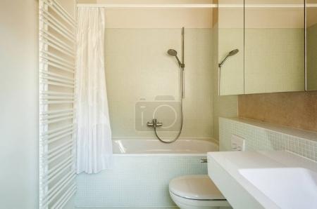 architecture modern design, interior, bathroom