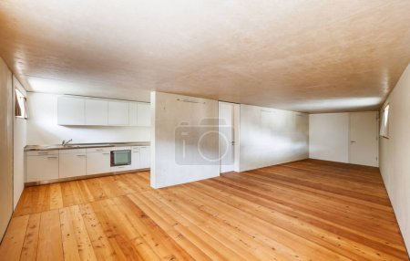 architecture modern design, interior home, room with kitchen
