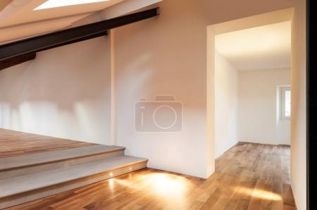 Interior nice loft, empty