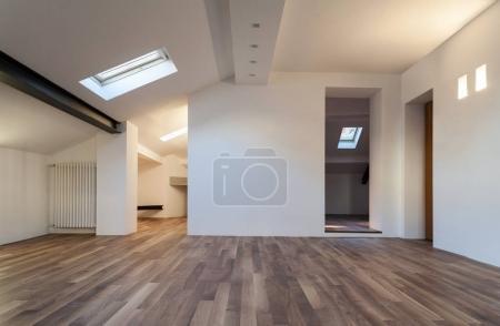home interior, attic