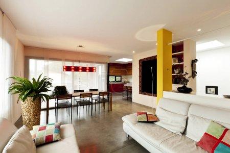 modern apartment, livingroom