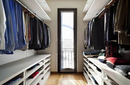 Photo for Beautiful apartment, interior, wardrobe - Royalty Free Image