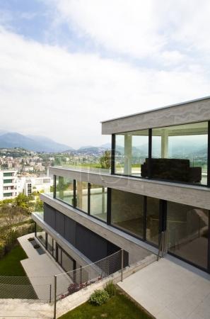 exterior modern building