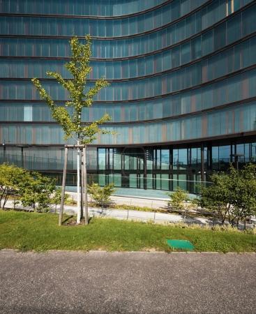 Modern building in Wien