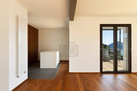 Photo for Modern apartment, large room, interior - Royalty Free Image