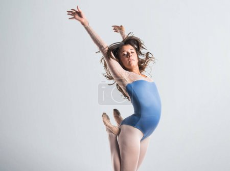 Beautiful girl ballet dancer