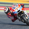 Постер, плакат: Driver Jorge Lorenzo Ducati Team Monster Energy Grand Prix of Catalonia