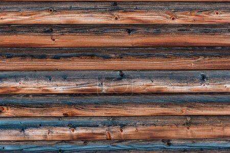 Photo pour Bois surface brune texturée naturelle avec espace de copie - image libre de droit