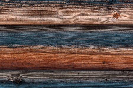 Photo pour Surface brun texturé naturel en bois avec espace de copie - image libre de droit