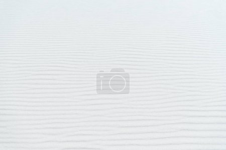 Photo for Clear white wavy sand textured background - Royalty Free Image