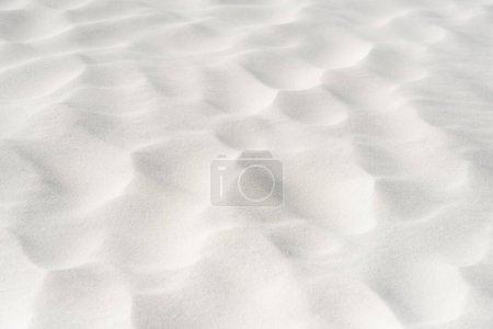 beach with clean white textured sand