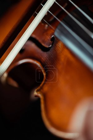 Photo for Close up of professional musical instrument, selective focus - Royalty Free Image
