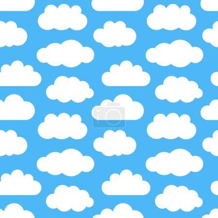 Clouds seamless texture