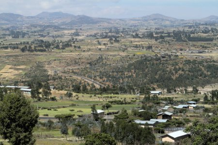 Villages and cottages in Ethiopia