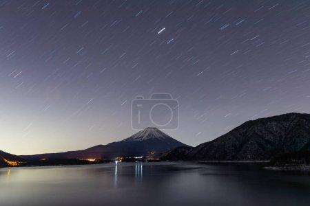 Lake Motosu in Yamanashi Prefecture