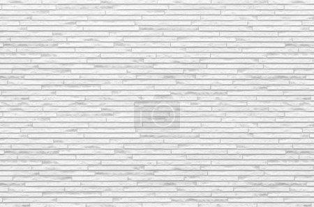 Photo pour Tuile de briques blanches mur sans soudure fond et textures - image libre de droit