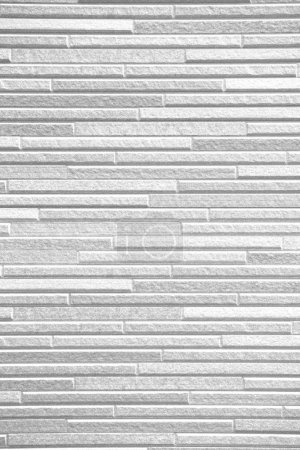 White brick tile wall