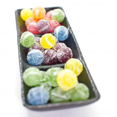 Sweet sugar candies