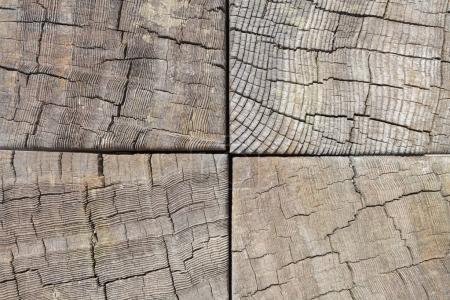 Light natural wood texture