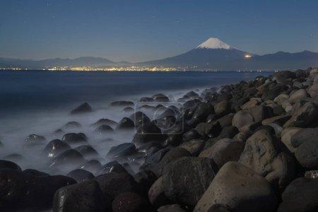 Mountain Fuji with Suruga Bay