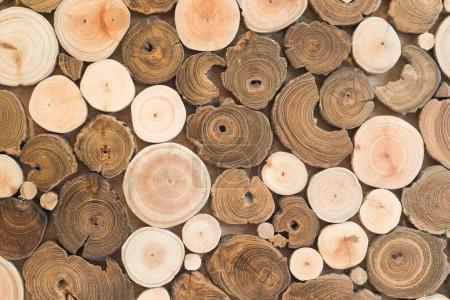 Design wood wall