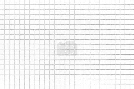 Photo pour Mur de carreaux de briques blanches ou carrelage blanc étage sans soudure fond et textures - image libre de droit