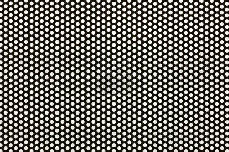 Fond d'écran sans soudure de maille d'acier noir