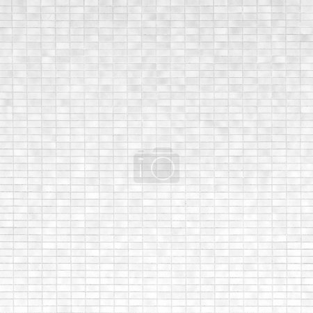 White and grey brick tile wall background