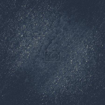 Fond d'ardoise noir gris foncé ou la texture. Pierre noire