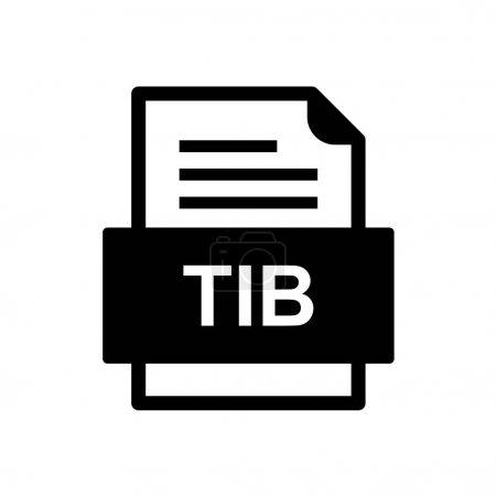 File format icon vector illustration...