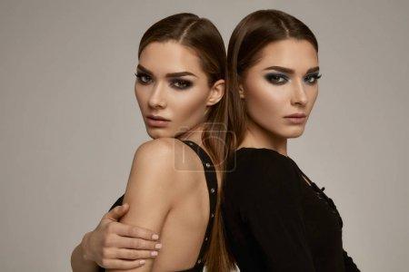 Beautiful female models