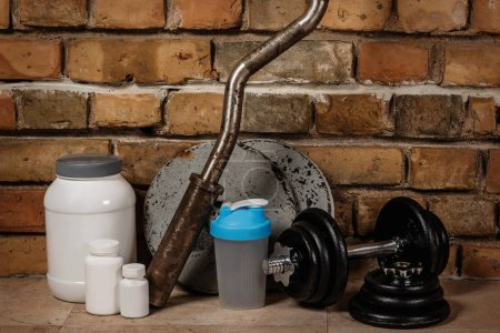 Food supplements and sport equipment