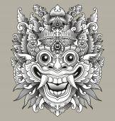 Balinese Barong Traditional Mask