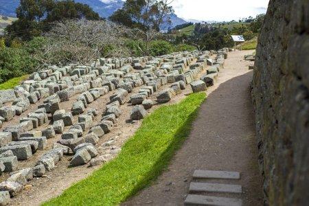 Old stones at Ingapirca ruins